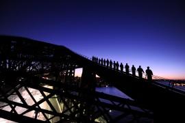 Climbing the Sydney Harbour Bridge