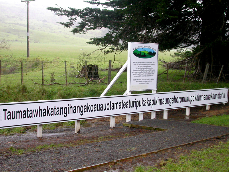 New Zealand Australia town names pronunciation